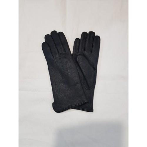 Перчатки кожаные армии Голландии, черные, новые