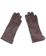 Перчатки кожаные армии Голландии, коричневые, новые