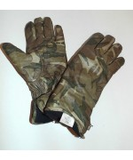 Перчатки кожаные утеплённые Combat Gloves MK II армии Великобритании, MTP, б/у отличное состояние
