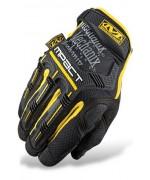 Перчатки Mechanix M-Pact, желто-черные, новые