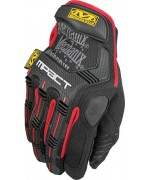 Перчатки Mechanix M-Pact, красно-черные, новые