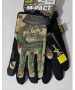 Перчатки Mechanix M-Pact, multicam, новые