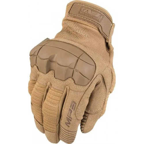 Перчатки Mechanix M-Pact с защитой костяшек, койот, новые