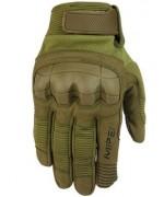 Перчатки Mechanix M-Pact с защитой костяшек, олива, новые