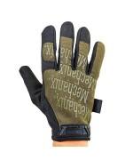 Перчатки Mechanix Original Glove, олива-черные, новые