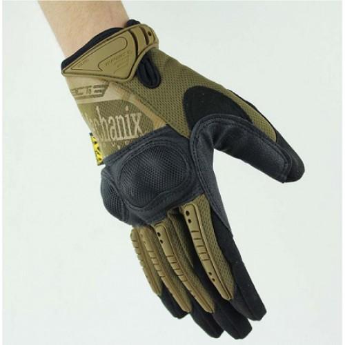 Перчатки с костяшками Mechanix M-Pact, койот, новые