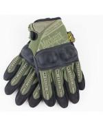 Перчатки с костяшками Mechanix M-Pact, олива, новые