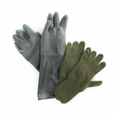 Перчатки шерстяные армии Швеции, олива, новые