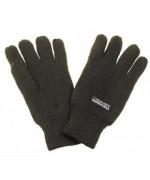 Перчатки вязанные с утеплителем Thinsulate, олива, новые