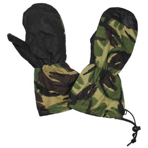 Рукавицы с кожаными накладками армии Великобритании, DPM, как новые