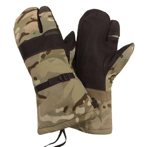 Рукавицы трехпалые с мембраной GORE-TEX армии Великобритании, MTP, новые