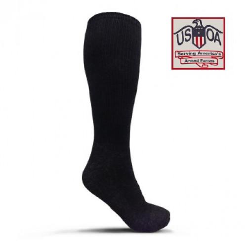 Носки антимикробные с серебряной нитью, чёрные, новые