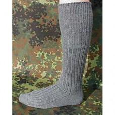 Носки Бундесвера удлинённые, серые, новые