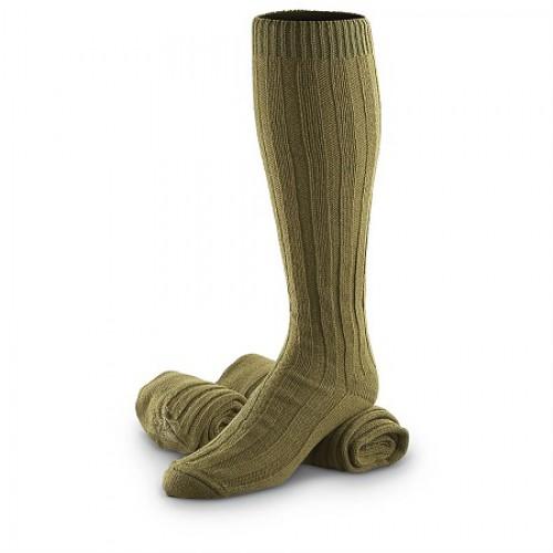 Носки шерстяные армии Чехии, олива, новые