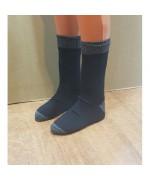 Носки трёхслойные мембранные армейские, чёрно-серые, новые
