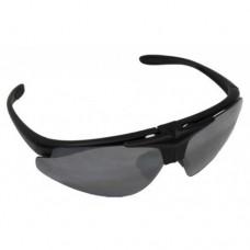"""Армейские защитные очки """"Hawk"""" с 2 сменными линзами, чёрные, новые"""