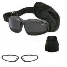Баллистические очки Advancer V12, черные, б/у