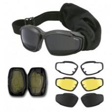 Баллистические очки Advancer V12, черные, как новые