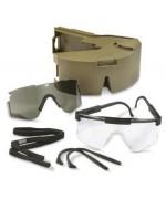 Очки баллистические с пластиковым чехлом армии США, новые