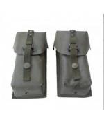 Подсумки (2 шт) для магазинов StG 77 армии Австрии, олива, б/у
