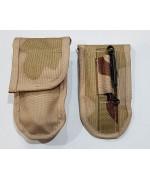 Подсумок для перочинного ножа армии Голландии, 3 color desert, новый