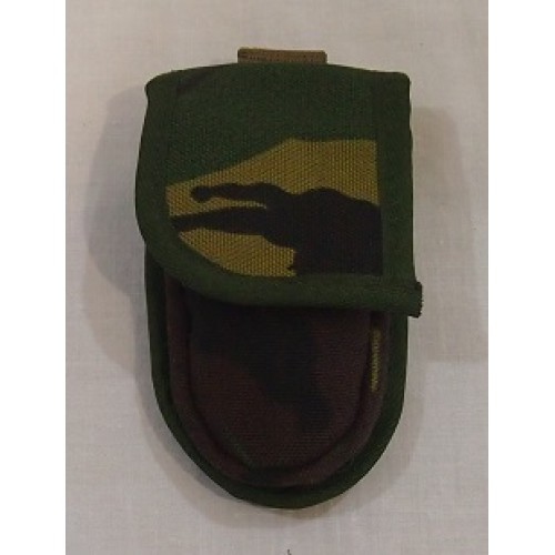 Подсумок для перочинного ножа армии Голландии, Woodland, новый