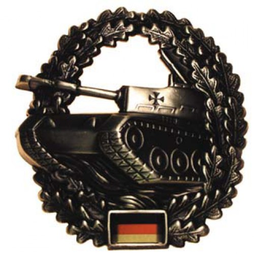 Кокарда бронетанковые войска  Бундесвера, новая