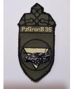 Шеврон Panzergrenadier- bataillon 35  армии Австрии, б/у