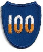 Нашивка 100th Infantry Division армии США, новая
