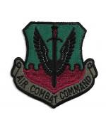 Нашивка Air Combat Command армии США, новая