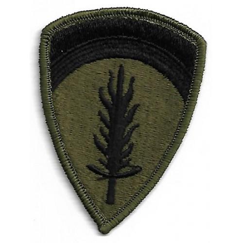 Нашивка US Command in Europe армии, новая