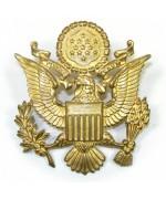 Кокарда армии США, жёлтая, новая
