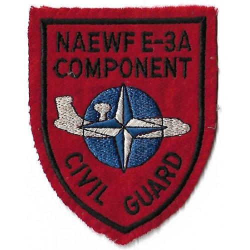 Нашивка NAEWF E-3A COMPONENT, б/у хорошее состояние