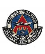 Нашивка NATO E-3A COMPONENT, б/у