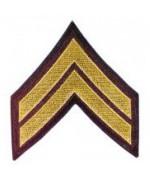 "Нашивка ""U.S. Army - Corporal"", новая"