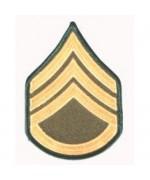 "Нашивка "" U.S. Army - Staff Sergeant"", новая"