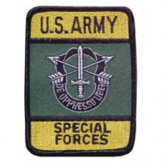 "Нашивка ""United States Army - Special Forces"", новая"