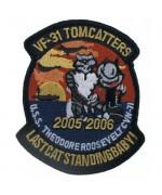 """Нашивка """"VF-31 TOMMCATTERS"""", новая"""