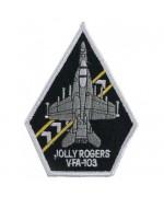 """Нашивка """"VFA-103 JOLLY ROGERS"""", новая"""