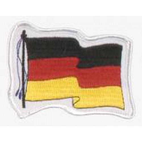 """Нашивка """"wehende Flagge Deutschland"""", новая"""