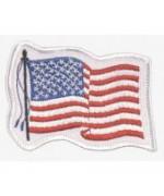 """Нашивка """"wehende Flagge - United States of America"""", новая"""