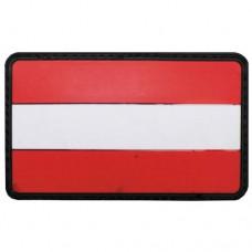 Шеврон на липучке флаг Австрии, новый