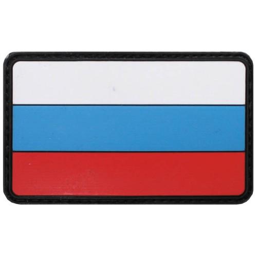 Шеврон на липучке флаг России, новый