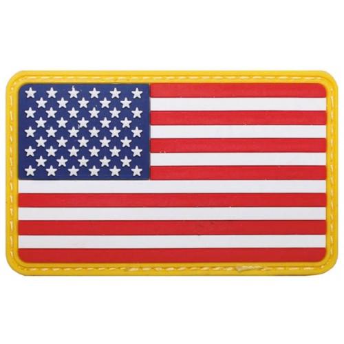 Шеврон на липучке флаг США, новый