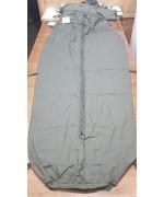 Гигиеническая вставка в спальный мешок армии Голландии, олива, б/у