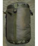 Компрессионный мешок для летнего спального мешка армии Великобритании, олива, б/у
