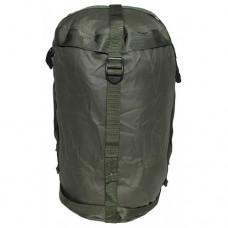 Компрессионный мешок для летнего спального мешка армии Великобритании, олива, новый