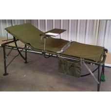 Кровать полевого госпиталя армии США, олива, новая