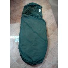 Спальный мешок летний с компрессионным мешком армии Великобритании, олива, новый