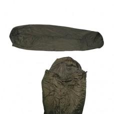 Спальный мешок летний модульной спальной системы армии Голландии, олива, б/у
